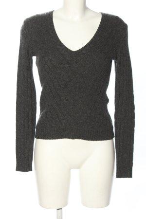Ralph Lauren Kaszmirowy sweter jasnoszary Melanżowy W stylu casual