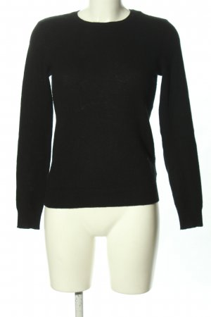 Ralph Lauren Cashmere Jumper black casual look