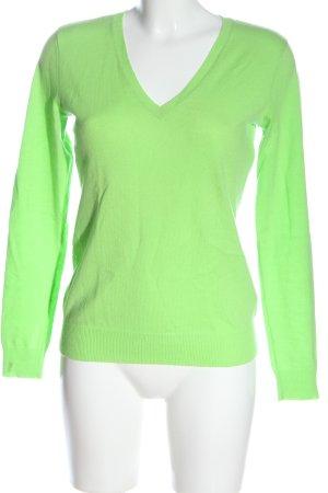 Ralph Lauren Sudadera de cachemir verde look casual