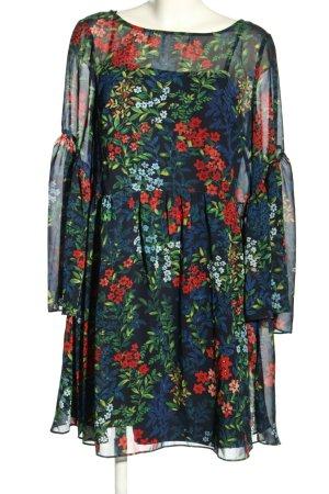 Ralph Lauren Chiffon Dress allover print casual look