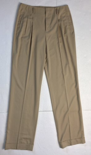 Ralph Lauren Collection, Ashford Straight Pant, Tan, 40 (US 10), Wolle, neu, € 1.300,-