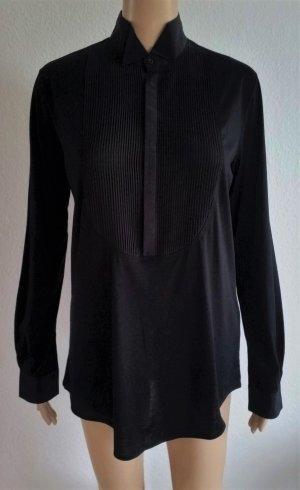 Ralph Lauren Collection, Bluse, schwarz, Baumwolle/Seide, M, neu, € 600,-