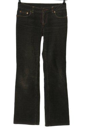 Ralph Lauren Corduroy Trousers black casual look