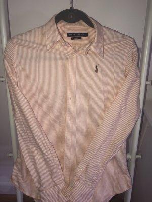 Polo Ralph Lauren Koszula z długim rękawem brzoskwiniowy-biały Bawełna