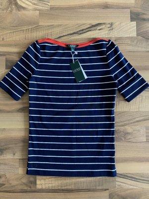 Ralph Lauren Damen T-shirt, navy/white.  Gr. S. neu!