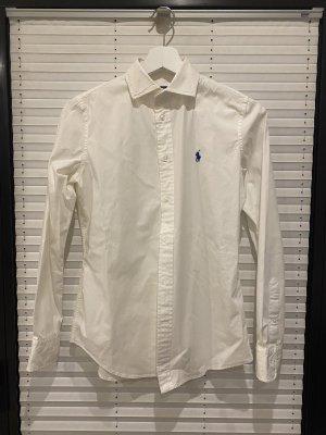 Ralph Lauren Camicia a maniche lunghe bianco-blu scuro