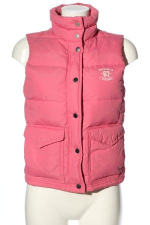 Ralph Lauren Piumino smanicato rosa motivo trapuntato stile casual