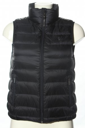 Ralph Lauren Down Vest black quilting pattern casual look