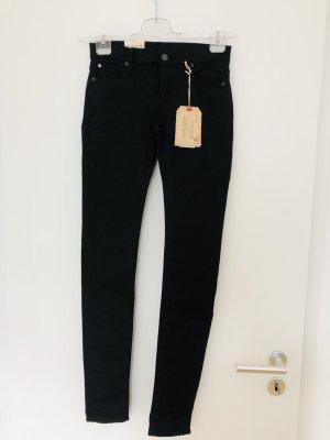 Denim & Supply Ralph Lauren Skinny Jeans black cotton