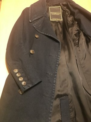 Denim & Supply Ralph Lauren Frock Coat dark blue-bronze-colored