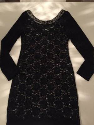 Ralph Lauren denim& supply Kleid mit Silber Applikationen
