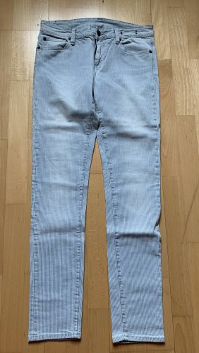 Denim & Supply Ralph Lauren Skinny jeans wolwit-azuur
