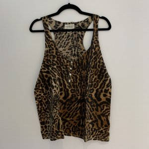 Ralph Lauren Denim & Supply Top Animal Print