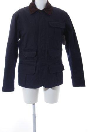 Ralph Lauren Podwójna kurtka ciemnoniebieski-brązowy Styl klasyczny