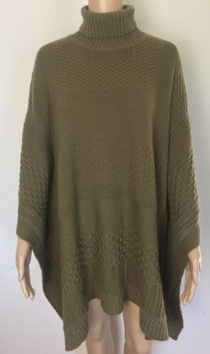 Ralph Lauren Double RL, Poncho-Sweater, New Olive, XS/S, Wolle/Cashmere, neu, € 750,-
