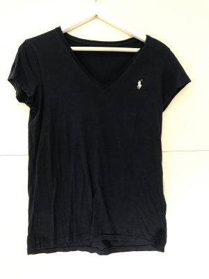 RALPH LAUREN   Dunkelblaues T-Shirt