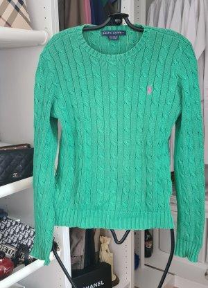 Ralph Lauren Swetrowa sukienka zielony