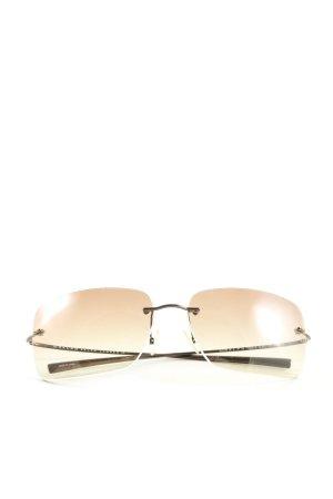 Ralph Lauren eckige Sonnenbrille braun Casual-Look