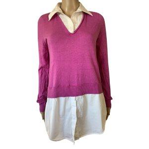 Lauren by Ralph Lauren Sweater Twin Set white-violet