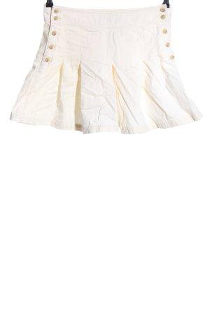 Ralph Lauren Faltenrock creme Casual-Look