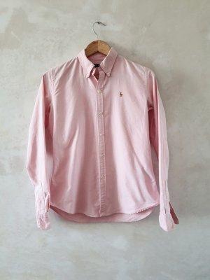 Ralph Lauren Koszulowa bluzka jasny różowy