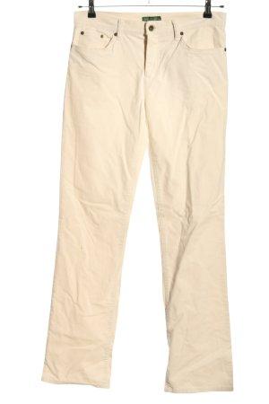 Ralph Lauren Five-Pocket-Hose creme Casual-Look