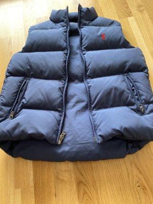 Ralph Lauren Sport Gilet en duvet bleu tissu mixte