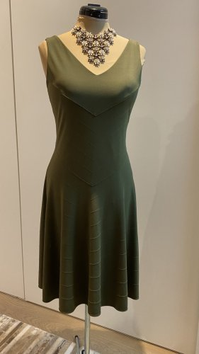 Polo Ralph Lauren Jersey Dress olive green viscose