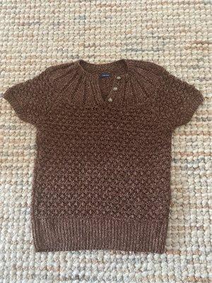 Polo Ralph Lauren Crochet Cardigan dark brown