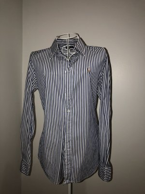 Lauren by Ralph Lauren Long Sleeve Shirt dark blue-white