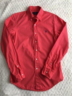Ralph Lauren Long Sleeve Shirt red