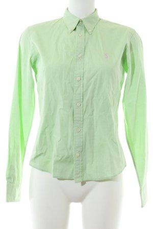 Ralph Lauren Hemd-Bluse grün Business-Look