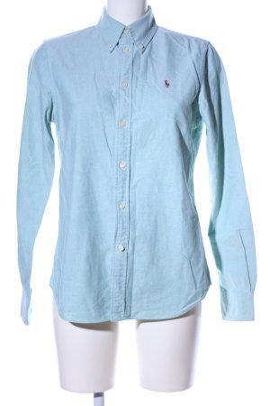 Ralph Lauren Blouse-chemisier bleu style décontracté
