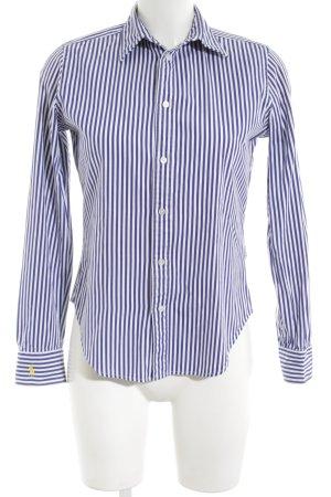 Ralph Lauren Hemd-Bluse Streifenmuster klassischer Stil