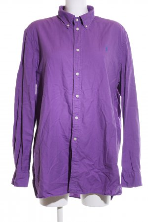 Ralph Lauren Hemd-Bluse lila Business-Look