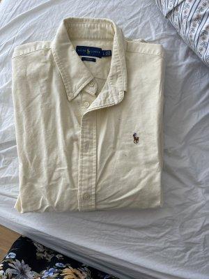 Lauren by Ralph Lauren Long Sleeve Shirt pale yellow