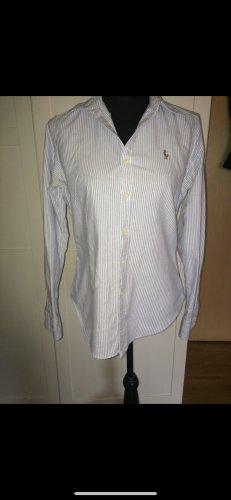 Ralph Lauren Hemd im Streifen Look gestreift hellblau weiß