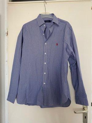 Polo Ralph Lauren Camisa de manga larga blanco-azul