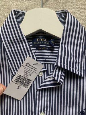 Polo Ralph Lauren Blouse Collar dark blue-white