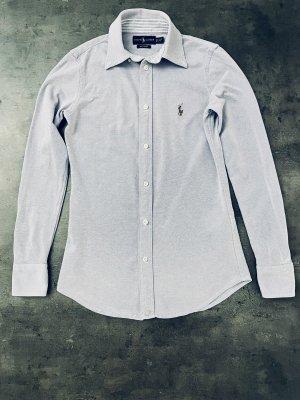 Lauren by Ralph Lauren Long Sleeve Shirt purple cotton