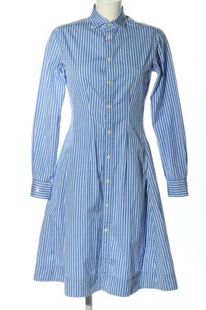 Ralph Lauren Vestido tipo blusón azul-blanco look Street-Style