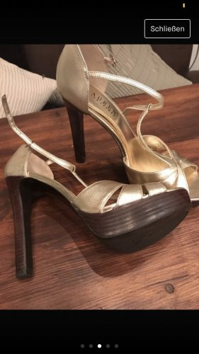 Ralph Lauren High Heels gold gr. 40