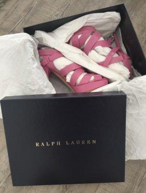 Ralph Lauren high heels / Riemchenpumps