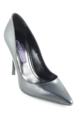Ralph Lauren High Heels schwarz Business-Look