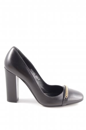 Ralph Lauren High Heels schwarz Business-Look