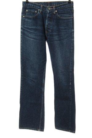 Ralph Lauren High-Waist Hose blau Casual-Look