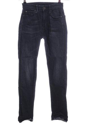 Ralph Lauren High Waist Jeans hellgrau Casual-Look
