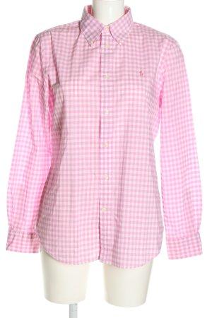 Ralph Lauren Holzfällerhemd pink-weiß Karomuster Casual-Look