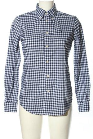 Ralph Lauren Holzfällerhemd blau-weiß Karomuster Casual-Look