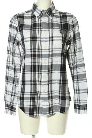 Ralph Lauren Holzfällerhemd hellgrau-weiß Karomuster Casual-Look